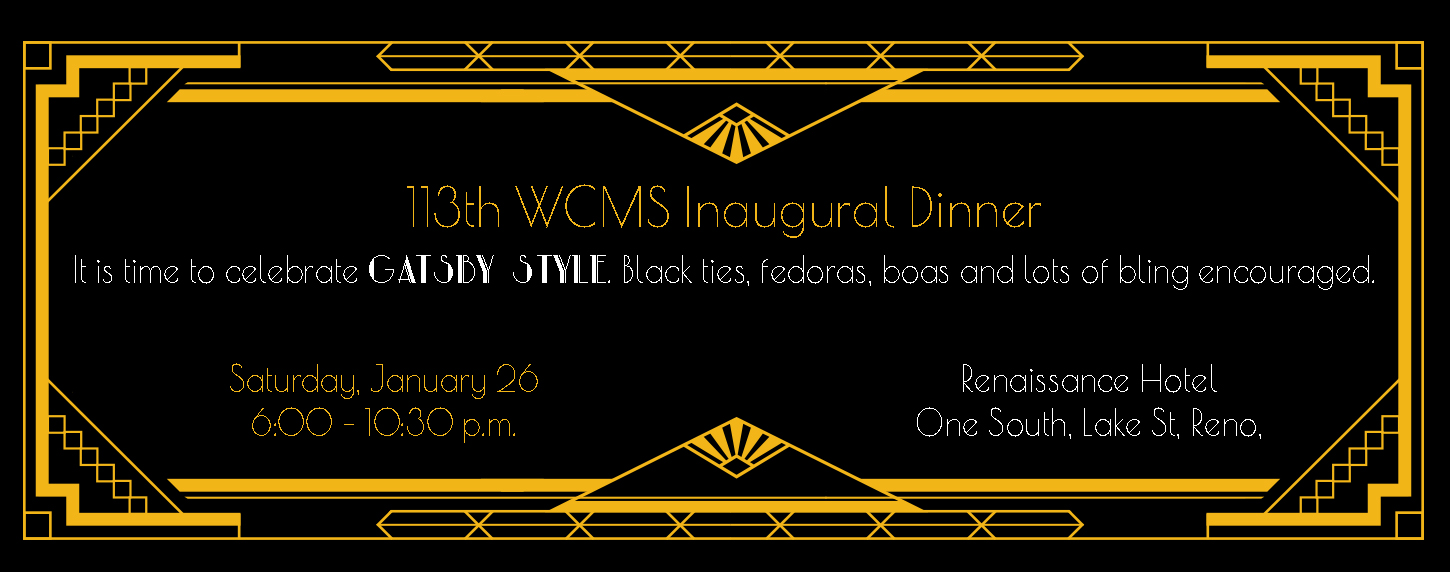 113th WCMS Inaugural Dinner