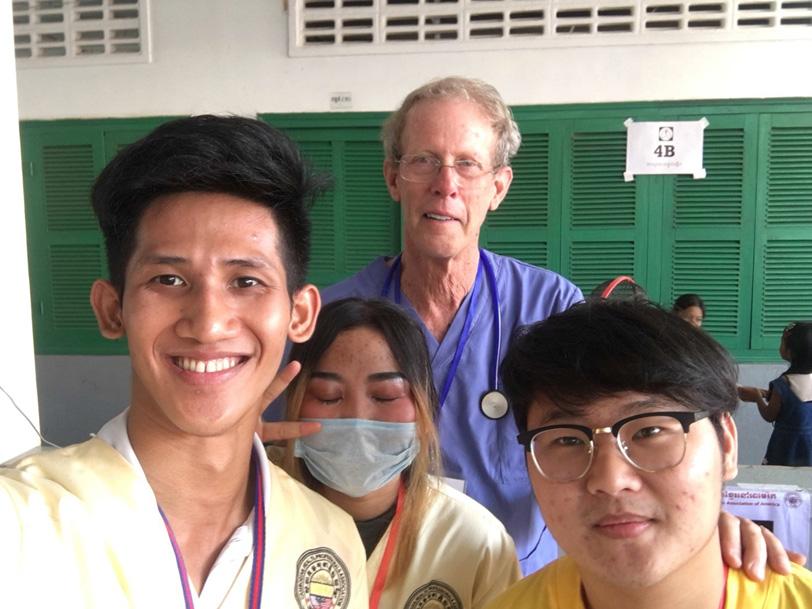 Dr. Hardwick, Cambodia Outreach